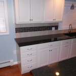 Kitchen Floors and Tiled Back Splash
